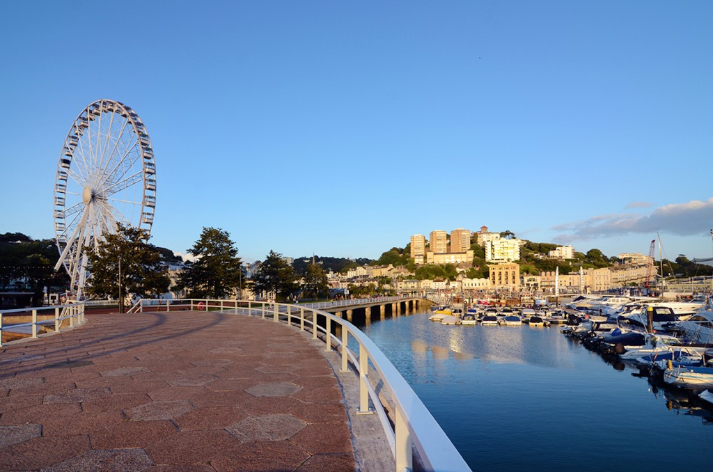 Big wheel torquay harbour