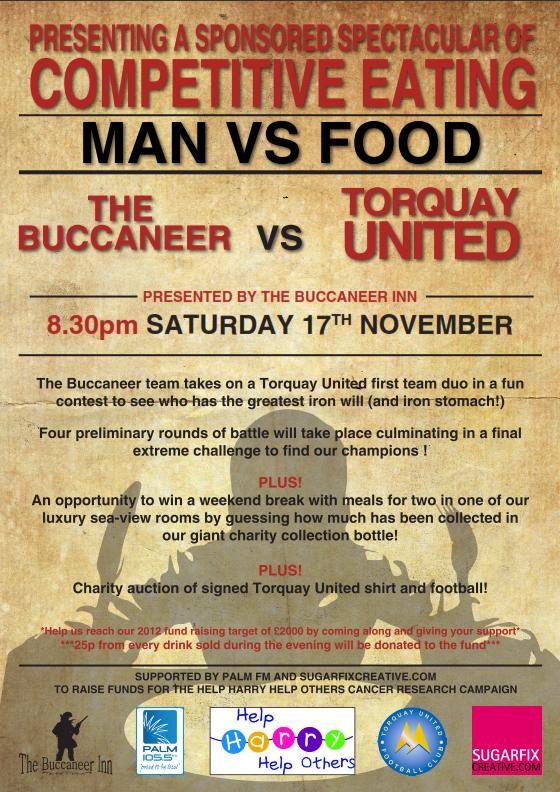 man vs food poster